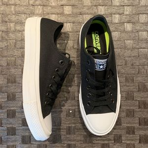 NEW Converse All Star Black Sneaker - 7